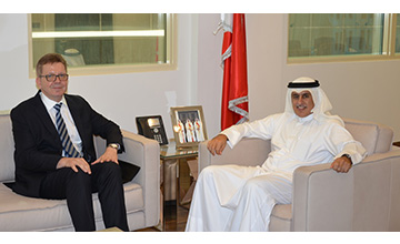 Industry Minister receives German Ambassador