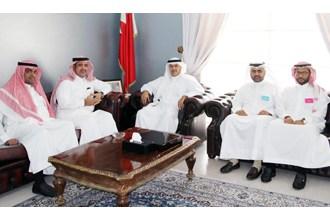 Capital Governor receives Princess Al-Anoud Charity Organisation Secretary General