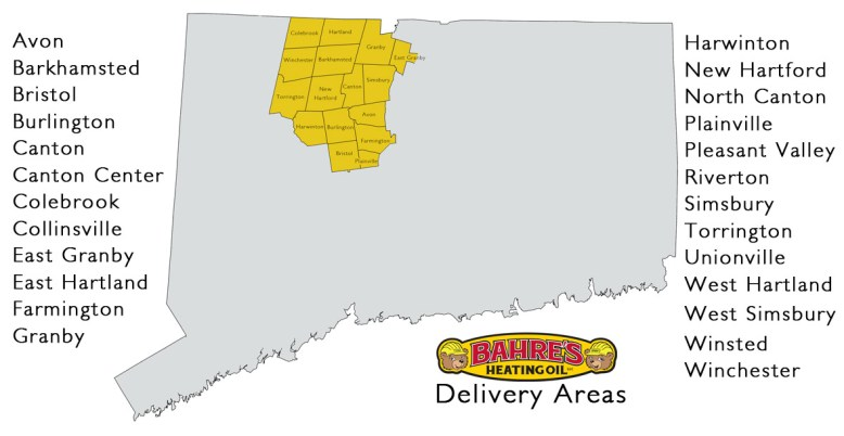 Delivery Area List
