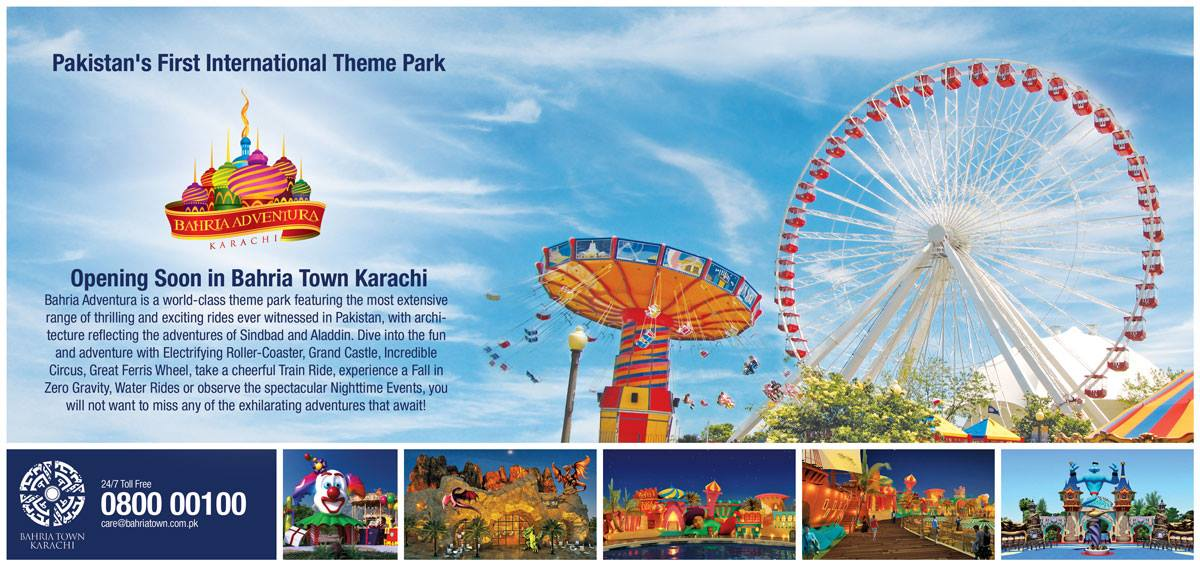 Bahria Adventura Karachi - Pakistan's First International Theme Park Opening in 2017