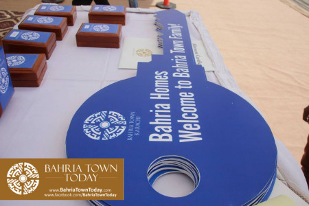 Possession Handover Ceremony of 200 Sq Yard Bahria Homes (Quaid Block) (3)