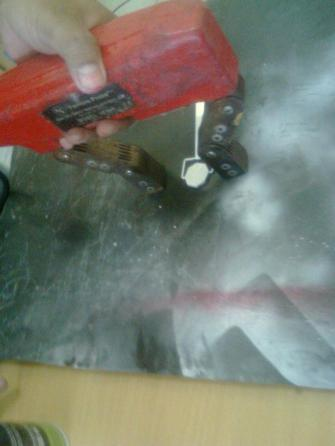 CHEMICALS as PENETRANT or MAGNETIC TESTING
