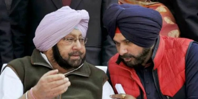 punjab-cm-captain-amarinder-singh-challenged-sidhu-to-fight-election-against-him