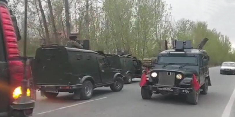 jammu kashmir encounter broke out three terrorists killed by the security forces