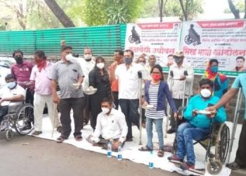 pune-begging-movement-handicapped-persons-pune