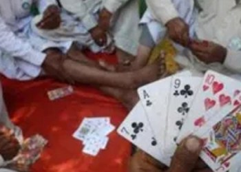 pune news pune rural police raid gambling den bhigwan along political leaders 26 people including government employees were detained
