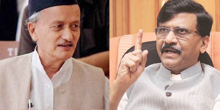 Sanjay Raut: 'Governor should give a sweet birthday gift to the state by arranging appointment of 12 MLAs'