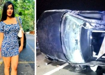 Yashika Anand   Southern actress Yashika Anand critically injured in car accident; friend dies on the spot