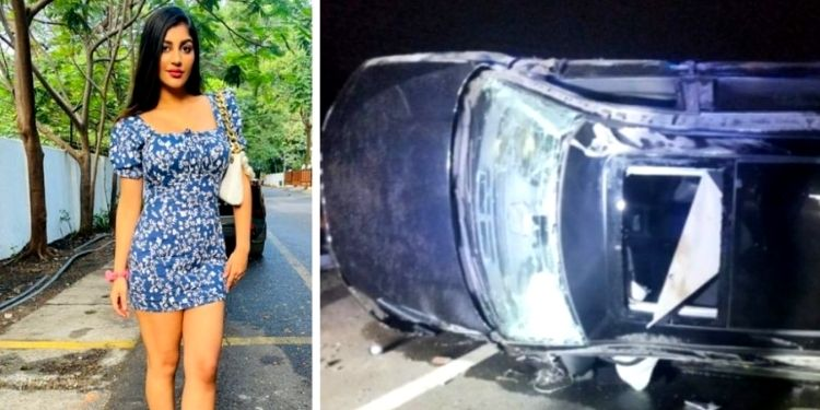 Yashika Anand | Southern actress Yashika Anand critically injured in car accident; friend dies on the spot
