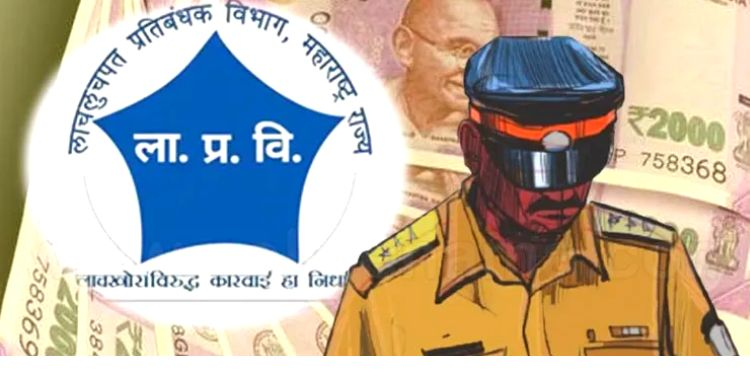 Anti-Corruption   Sub-Inspector of Police caught taking Rs 80,000 in anti-corruption scam