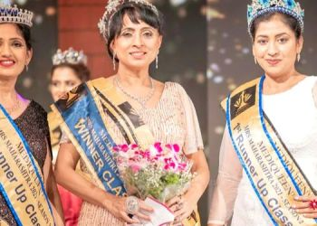 Mediqueen Mrs Maharashtra   from the Royal Group Dr. Revati Rane and from the classic Group Dr. Ujwala Bardapurkar became the winner of Medicine Mrs. Maharashtra
