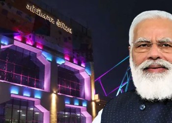 pm modi will dedicate to the nation various signficant projects and will flag off newly introduced trains on 16th july in gujrat