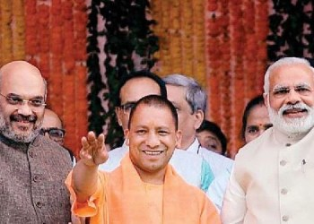 objectionable picture of pm modi cm yogi and amit shah viral police in search of accused