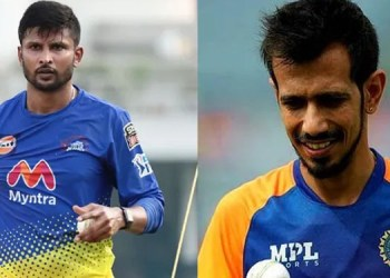 indian players breaking india cricketer yuzvendra chahal and krishnappa gowtham test positive for covid 19