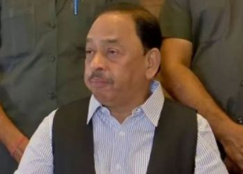 Narayan Rane | Union minister's pre-arrest bail application rejected by court, police arrest Narayan Rane.