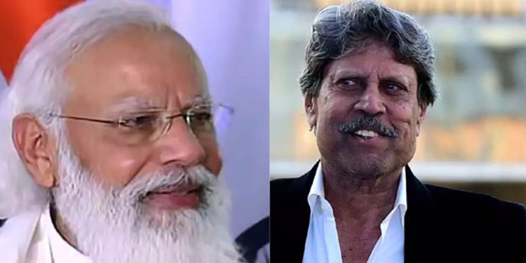 pm modi tells kapil dev you have been a constant source of inspiration for all sports lovers
