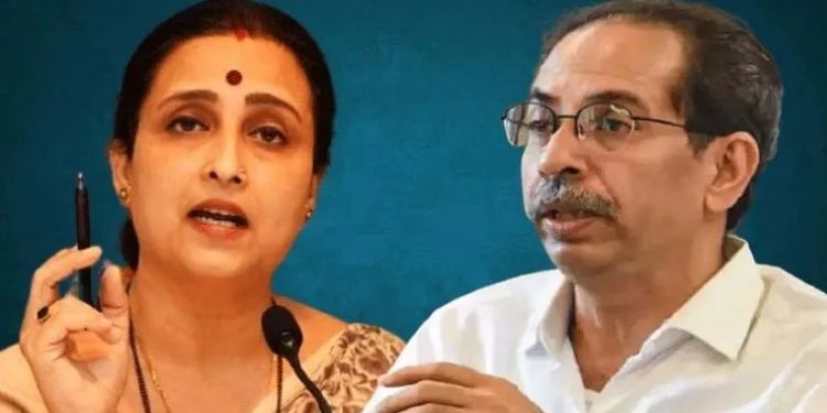 chitra wagh maharashtra bjp leader chitra wagh targets cm uddhav thackeray on rape cases in state