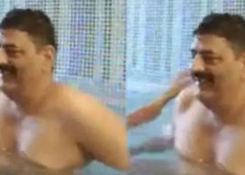 Crime News | rajasthan dsp arrested doing obscene act female constable front child swimming pool