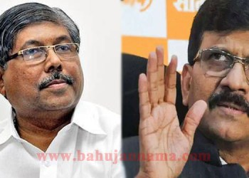 sanjay raut slams chandrakant patil over compounder and governors comment