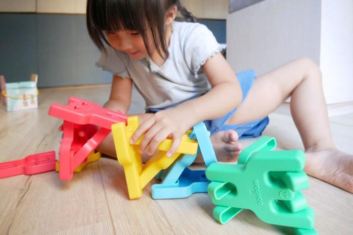[啾團] WOOHOO-PIGGYBACKS Q比人軟積木建構片激發小孩的無限想想力(本次加開 大型搖搖軟積木/ 軟積木)