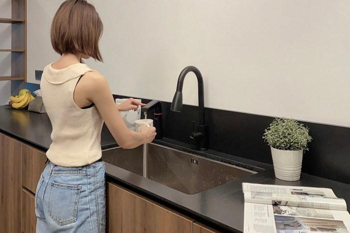 [啾團] Pro級櫥下淨水+飲水機!不須等待就可直接生飲冷熱水-EVERPOLL智能櫥下型雙溫UV觸控飲水機(EVB-298-E)+全效能淨水組(DCP-3000)