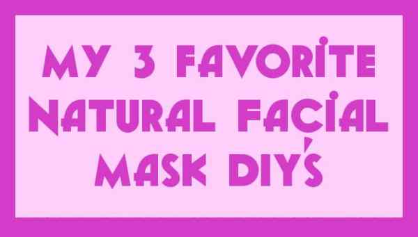 Facial Mask DIY