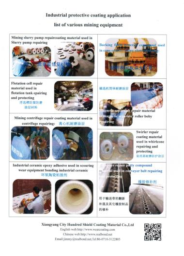 Industrial protective coating application in various mining industry equipment