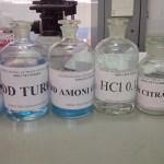 Pha hóa chất, dung dịch sử dụng trong xét nghiệm Huyết học