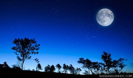 Tả cảnh một đêm trăng đẹp
