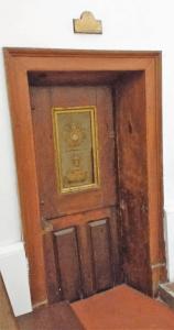 El convento profanado puerta del comulgatorio