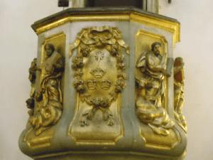 Heráldica en Nuestra Señora de Belén