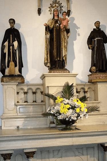 santa clara altar