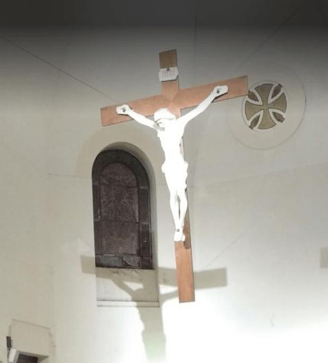 sta magadalena cristo altar