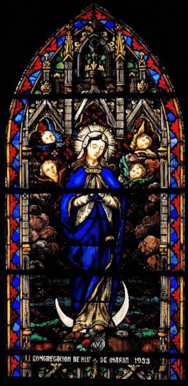 vitral San cristobal