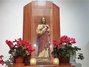 Parroquia Nuestra Señora de Fátima imagen del sagrado corazon