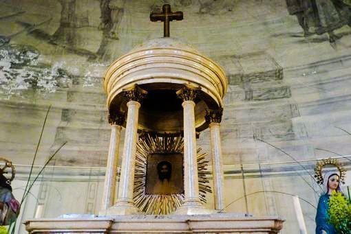 divino rostro altar