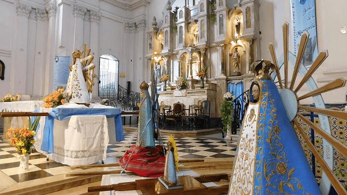 Virgenes de lujan en lujan porteño