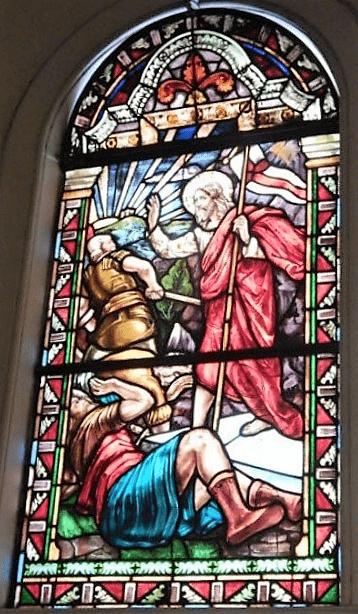 asuncion santisima virgen vitral 9
