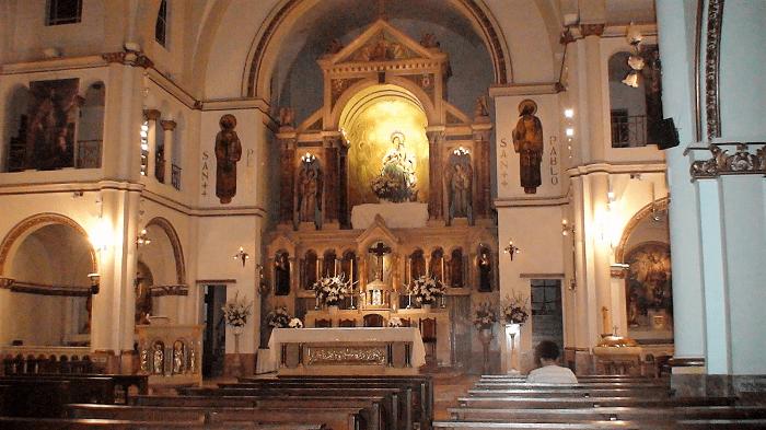 La parroquia de los Agustinos Recoletos