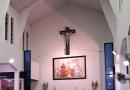 San Blas, patrono de los locutores, en Villa Soldati