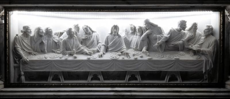Ultima cena iglesia El salvador