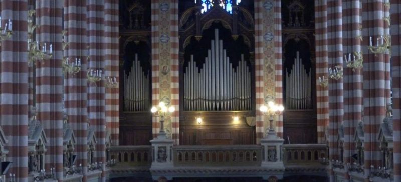 órgano de la Basílica María Auxiliadora