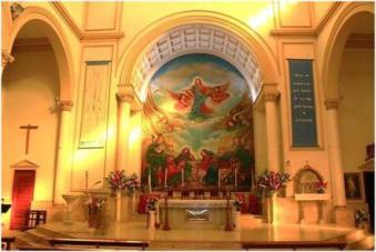 parroquia tránsito de san josé