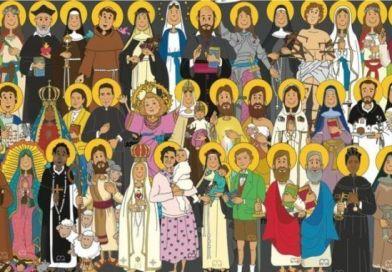 Portal religioso sobre Santos Cristianos