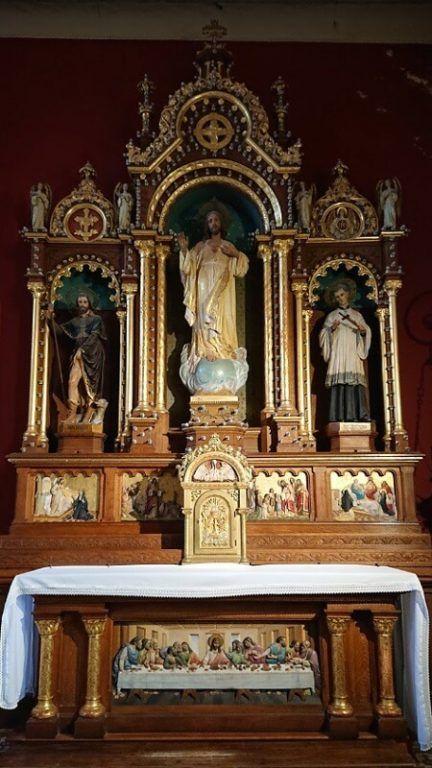 retablos menores de la parroquia de San Antonio de Areco
