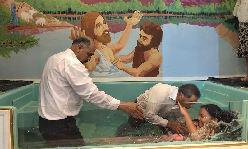 bautismo por inmersion bautista
