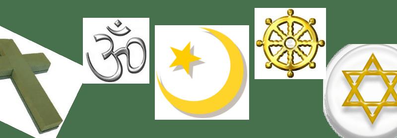 Las cinco religiones principales del mundo