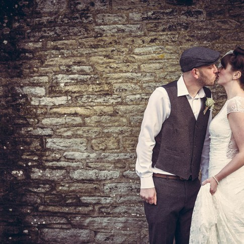 1940s themed wedding at Holdsworth House