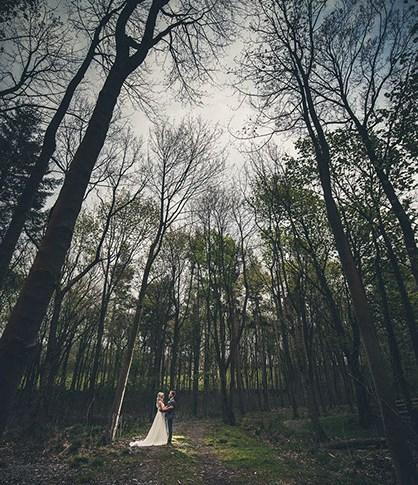 Broughton Hall estate wedding photographer