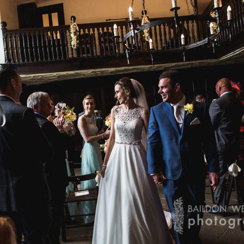Oakwell Hall wedding ceremony photograph